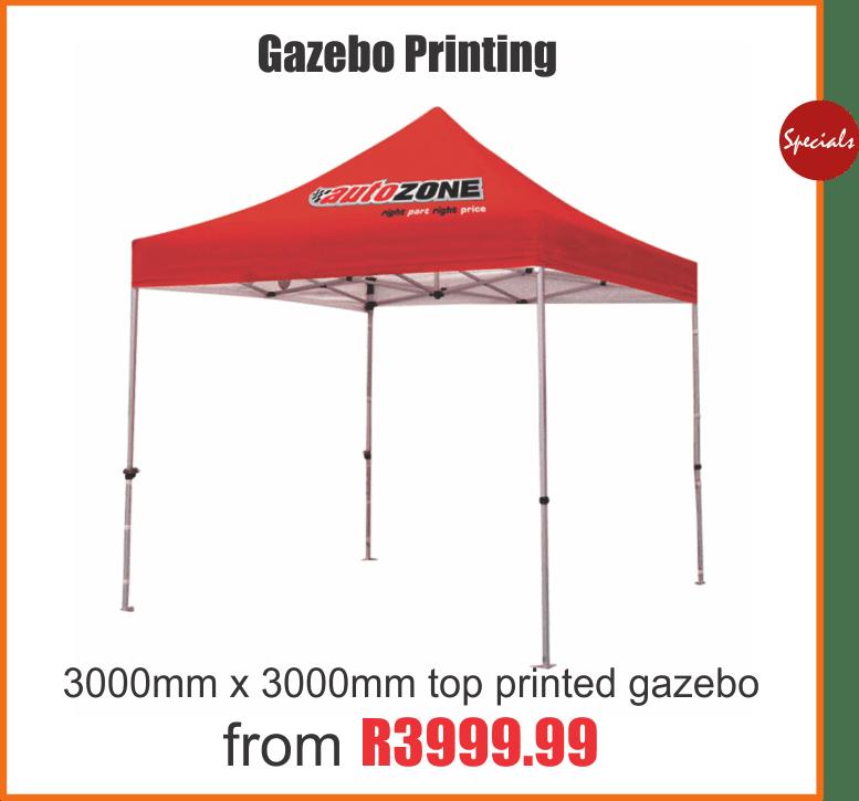 Gazebo printing in johannesburg