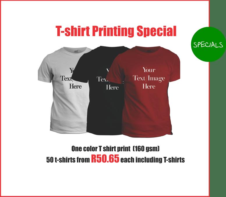 T-shirt Printers Johannesburg