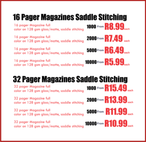 magazine printing prices