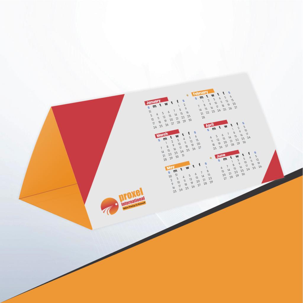 Triangle Calendar Printing
